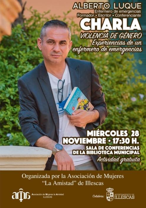 """Charla sobre violencia de género con la Asociación de mujeres """"La Amistad"""" de Illescas"""