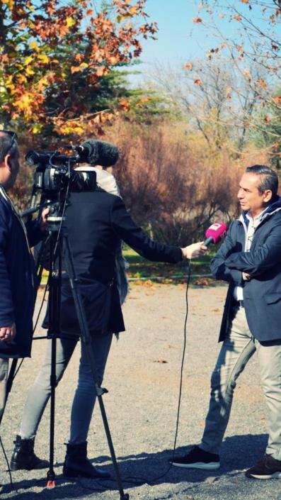 Entrevista en los informativos de Castilla La Mancha