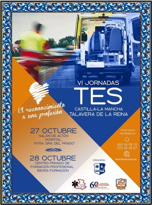 VI Jornadas TES CLM (Talavera de la Reina) 27-28 Octubre 2018