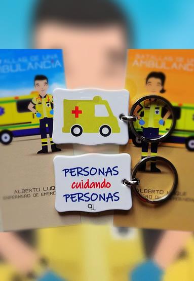 Llavero Ambulancia