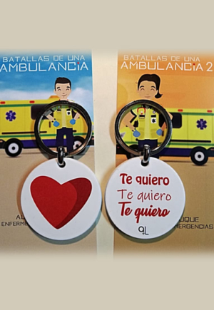 """Llavero Corazón """"Te quiero"""""""