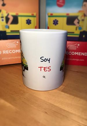 Taza blanca Keko y Keka - Soy TES