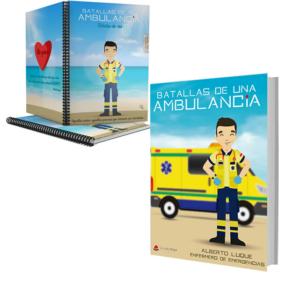 Libro Batallas de una ambulancia 1 + Cuaderno Keko uniforme