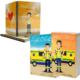 Libros Batallas de una ambulancia 1 y 2 + Cuaderno Keka uniforme