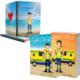 Libros Batallas de una ambulancia 1 y 2 + Cuaderno Keko uniforme