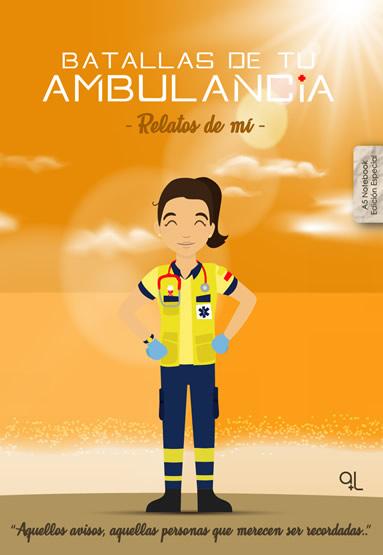 Portada Cuaderno Keka uniforme Batallas de tu ambulancia