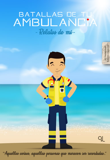 Portada Cuaderno Keko uniforme Batallas de tu ambulancia