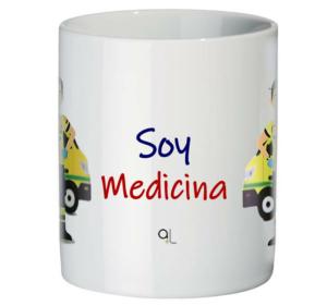 Frontal taza Soy Medicina