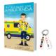 Libros Batallas de una ambulancia 1+ Llavero Keka TES
