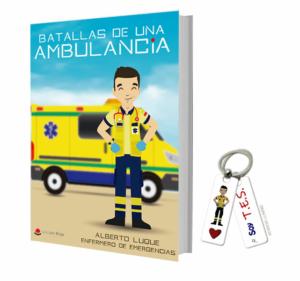 Libros Batallas de una ambulancia 1 + Llavero Keko TES