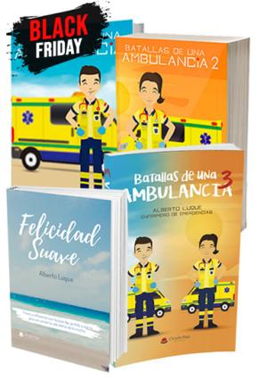 Trilogía-Batallas-de-una-Ambulancia - Felicidad Suave